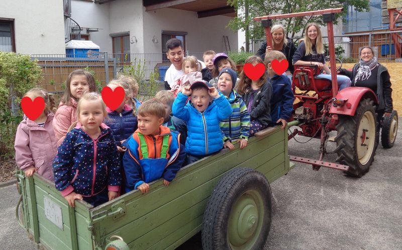 Projektzeit im Kindergarten Regenbogen - Teil 3