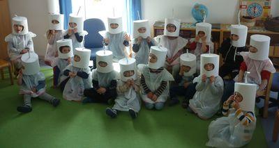 Projektzeit im Kindergarten Regenbogen - Teil 1