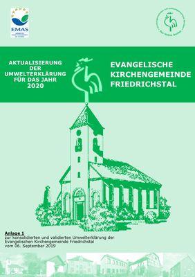 Aktualisierte Umwelterklärung unserer Kirchengemeinde