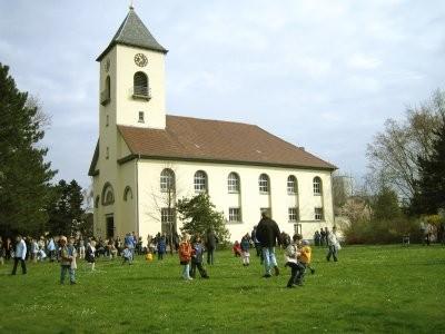 Wir feiern als Gemeinde Gottesdienst