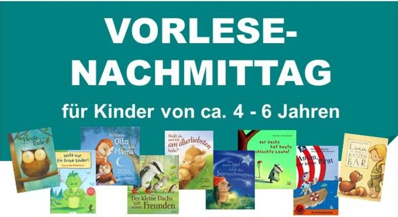 Vorlesenachmittag in der Bibliothek am 05. April 2017