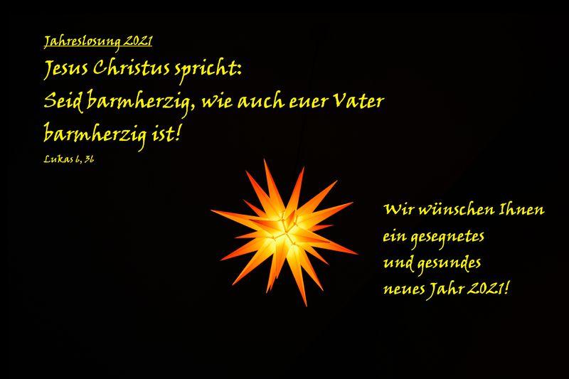 Gottesdienst zu Neujahr