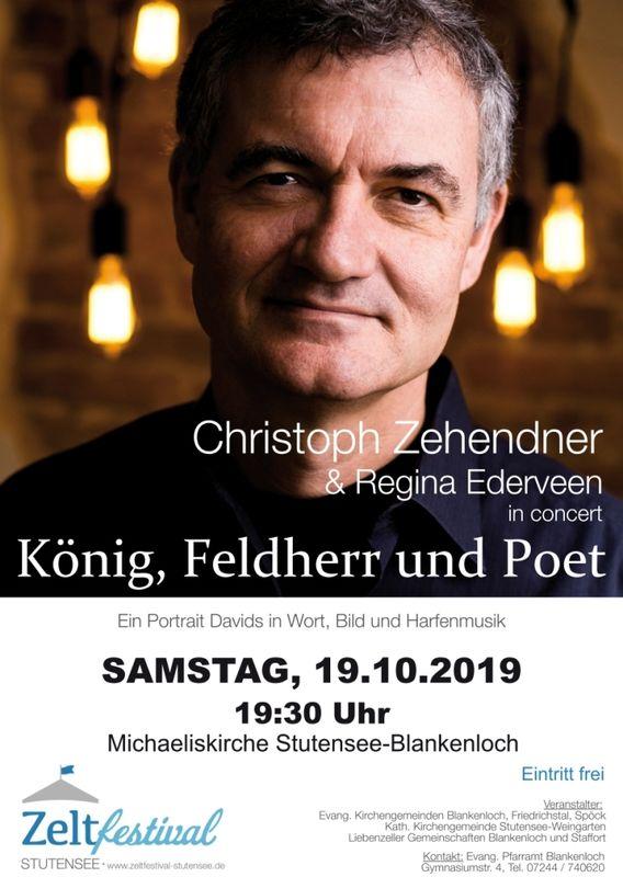 Konzert mit Christoph Zehendner