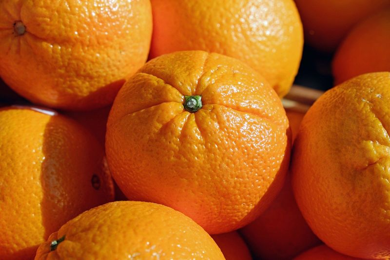 Orangenverkauf