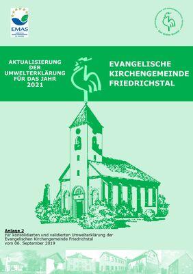 Aktualisierte Umwelterklärung der ev. Kirchengemeinde