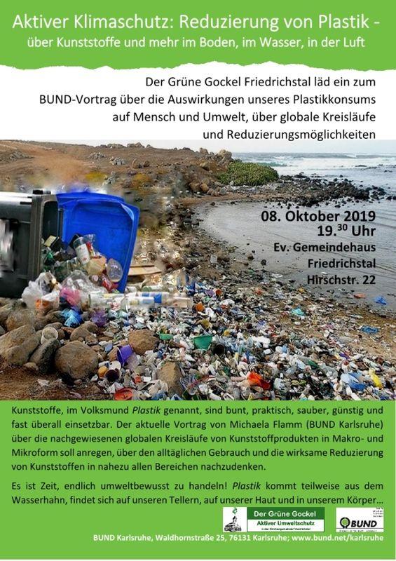 Aktiver Klimaschutz: Reduzierung von Plastik