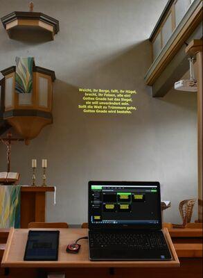 Spendenprojekt für neue Technik in unserer Kirche