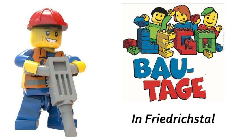 Lego-Stadt im Gemeindehaus