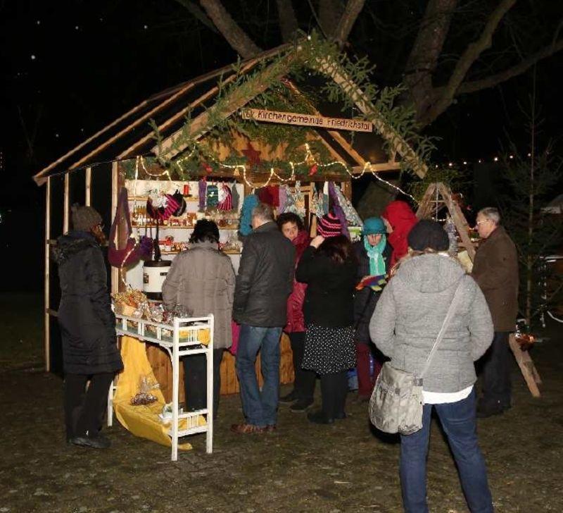 Weihnachtsmarkt in Friedrichstal am 9. und 10. Dezember