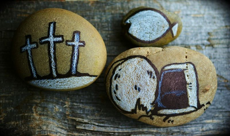 Ostersteine - Zeichen der Hoffnung
