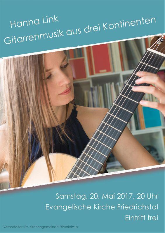 Gitarrenmusik aus drei Kontinenten