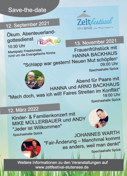 Zeltfestival Ankündigungen2122
